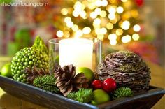 Centerpiece Inspiration for the Holidays!!! - The D.I.Y. Dreamer