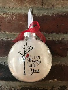Cardinal ornaments clear plastic disc ornament Christmas tree ornaments plastic - The world's most private search engine Cardinal Ornaments, Diy Christmas Ornaments, Christmas Balls, Christmas Projects, Handmade Christmas, Holiday Crafts, Christmas Holidays, Christmas Decorations, Christmas Ideas