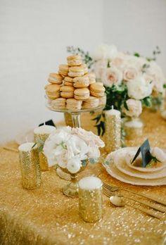 Beautiful Brides Magazine: Elegant Blush and Gold Wedding