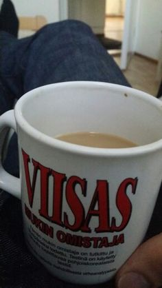 Perjantain kahvi momentti
