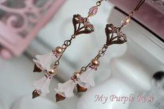 Chandeliers ★ Ohrhänger ★ Ohrringe von My Purple Rose auf DaWanda.com
