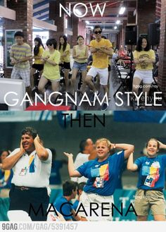 History repeats itself: Gangnam Style vs Macarena.... but gangnam style IS WAY better ha