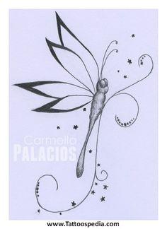 Dragonfly Tattoo Wrist Designs 1 - Tattoospedia