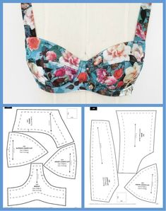 Aprende hacer estos hermosos traje de baños con patrones paso a paso! Source by antoniettacarde VEJA MAIS ant., Aprende hacer estos hermosos traje de baños con patrones paso a paso! Corset Sewing Pattern, Bra Pattern, Dress Sewing Patterns, Clothing Patterns, Crochet Pattern, Fashion Patterns, Pants Pattern, Sewing Bras, Sewing Lingerie