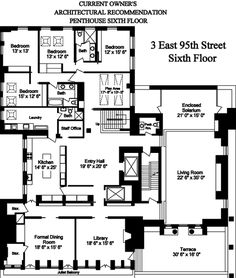 Carhart Mansion 3 East 95th Street NY Penthouse B-1