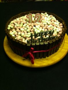 Nicole's birthday cake