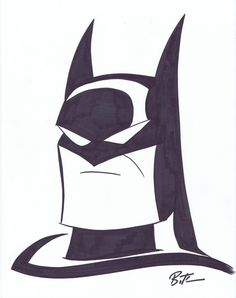 Batman animated serie by Bruce Timm