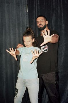 Drake and Millie Bobby Brown Finally Met and You'll Want to Frame the Epic Photo
