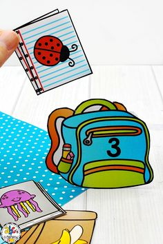 Are you looking for a new morning routine that will have your students entertained and engaged? These Back-To-School Morning Tubs for 1st Grade are fun, hands-on activities used to learn and review literacy and math concepts. This set of 5 literacy and 5 math morning tubs are perfect for children around the ages of 6-7. One resource included are this Backpack Syllable Sort. Click on the picture to learn more about these morning work activities! #morningtubs #backtoschoolmorningtubs #firstgrade