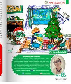 Hola a tod@s!! Os traigo mi colaboración navideña en la revista especial Navidad de RED MAMAS BLOGUERAS X EL MUNDO.     Como siempre ...