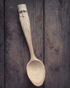 Sleeping Woodspirit spoon