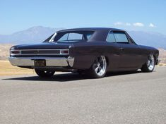 1966 Chevelle - this color works perfectly to blend old and new.