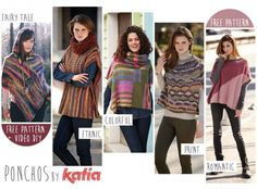 What are you waiting for to make the garment of the season! Discover our poncho and cape proposals in knit or crochet