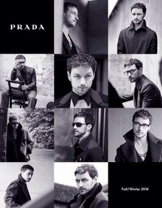 James McAvoy for Prada