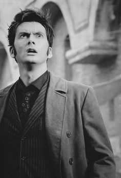 "David Tennant. I LOVE THIS PICTURE I can picture him saying ""what in the world of galifrey is that?"""
