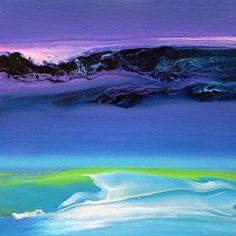 "Artist Jacob Jugashvili; Painting, ""Tuesday Evening I"""