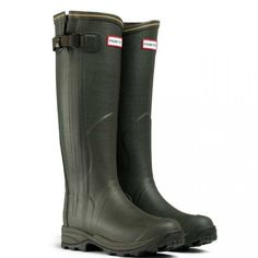 ✨NEW✨Hunter Olive Balmoral Lady leather Authentic ✨NEW✨ Hunter Balmoral Lady Leather Wellington Boots -Dark Olive The handmade Balmoral Lady Leather version of this range of boots is more specifically designed for a female with a slimmer fit around the ankle and the leg. The new leather lining inside the leg is warm and comfortable with a neoprene lined foot for insulation . Additional 3mm insoles included.  Adjustable calf area using the zip to fasten and the variable strap at the side…