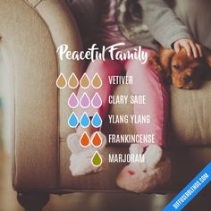 Peaceful Family - Essential Oil Diffuser Blend