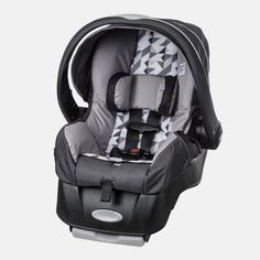 The lightweight Evenflo Embrace LX Infant Car Seat will transport your newborn from the car to your home in comfort, safety, and style. Featuring a removable plush head pillow and upfront harness adjust, your baby will be snug during every car ride. Toddler Car Seat, Car Seat And Stroller, Infant Car Seats, Baby Boy Car Seats, Low Birth Weight Babies, Siege Bebe, Convertible, Baby Car Mirror