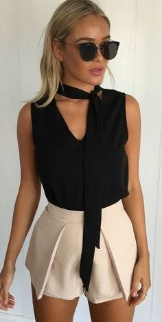 #muraboutique #label #outfitideas |  Black + Nude