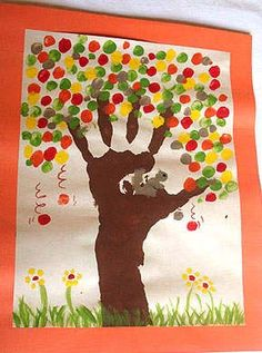 knutselen herfstboom - Google zoeken