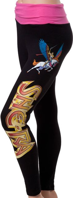 She-Ra Yoga Pants... But a 34 inch waist should not be 2xl. Thats far too tiny. 😞