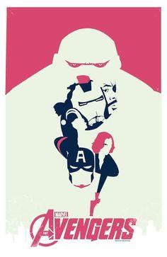 Very creative this poster    http://entretenimento.r7.com/cinema/fotos/veja-ilustracoes-baseadas-em-os-vingadores-20120510-5.html#fotos