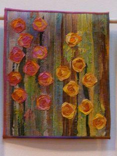 Crazy Rose Garden by Carol Mackey