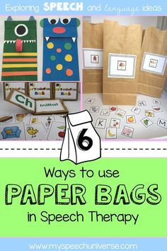 Six great ways to use a cheap resource in your speech therapy sessions with students.