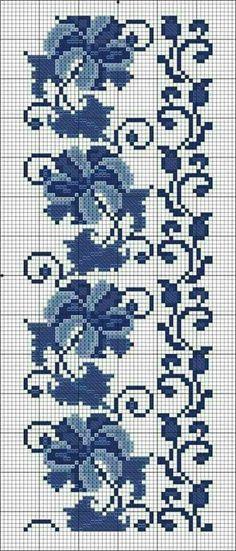 Easiest Crochet Frills Border Ever! Cross Stitch Borders, Crochet Borders, Cross Stitch Flowers, Filet Crochet, Cross Stitch Charts, Cross Stitch Designs, Cross Stitching, Cross Stitch Embroidery, Cross Stitch Patterns