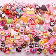 Decoden Sweets Deco Resin Kawaii Cabochon Assortment Assorted Pack Sophie & Toffee Sweets Starter Pack (20pcs)