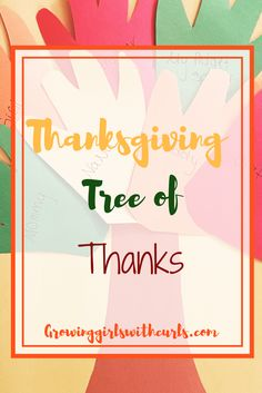 Thanksgiving Tree of Thanks craft for children. Fall Activities For Toddlers, Infant Activities, Toddler Fun, Toddler Preschool, Thanksgiving Tree, Thanksgiving Recipes, Fun Crafts, Crafts For Kids, Family Crafts