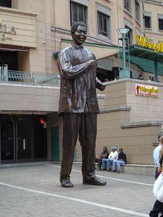 Nelson Mandela by Left Foot, via Flickr                                                                                                                                                                                 More