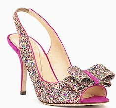Hot pink Kate Spade shoes