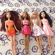Barbie dolls x 4 | United Kingdom | Gumtree