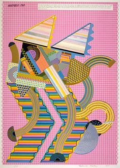 Parrot (from the portfolio 'As is When') by Eduardo Paolozzi - print