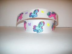 "GROSGRAIN MY LITTLE PONY 7/8"" INCH RIBBON *YOUR CHOICE OF 1, 3 OR 5 YARDS*"