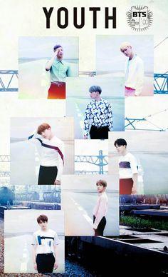 BTS / Youth / Wallpaper