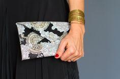 Audrey No-Sew Clutch by Kollabora | Project | Sewing / Bags & Purses | Kollabora