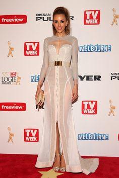 Rebecca Judd Dress: J'Aton Couture