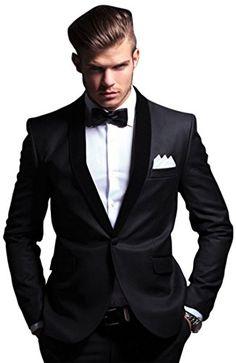 Bregeo Men's Viscose Blazer (BFJ2-40 _Black _40)