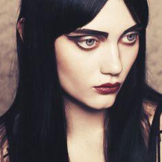 Magazine: I-D Online Photographer: Billy Ballard Model: Rory Manning Make up: Lucy Bridge Makeup Art, Hair Makeup, Makeup Themes, Glam Makeup, Makeup Ideas, Eye Makeup, Beauty Make Up, Hair Beauty, Grunge