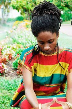 terber: via Locs Revolution - Janine Rasta Hair, Jamaica Reggae, Curly Hair Types, Natural Hair Inspiration, Great Women, Big Hair, Black Women, Cool Hairstyles, Natural Hair Styles