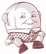 """Cloth Doll Pattern - Pattern to make 18"""" stuffed humpty dumpty doll. See website for more information.  #ClothDollPatterns #SewYourOwnDolly"""