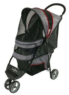 Gen7Pets Regal Pet Stroller, Gray Shadow >>> Learn more by visiting the image link. #DogCarriersTravelProducts