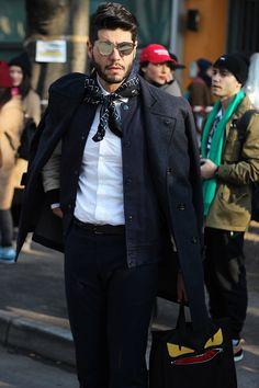 STREETSTYLE | Milan Fashion Week FW15 – Day #4