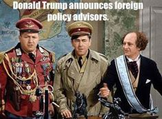 The funniest memes poking fun at the 2016 Republican National Convention.: Trump Foreign Policy Advisers