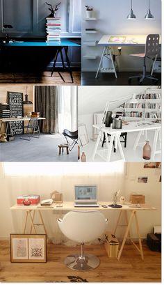 desk,bureau,treteaux,oficina,caballetes