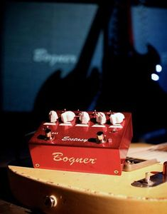 Bogner Pedals - Atlanta's music store for professional touring musicians and beginners alike. Guitar Pedals, Toys Shop, Red, Guitars, Boutique, Music, Musica, Musik, Muziek