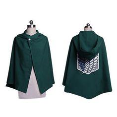 Attack-on-Titan-Survey-Corps-Cloak-Cape-Uniform-Costume-Cosplay-NEW
